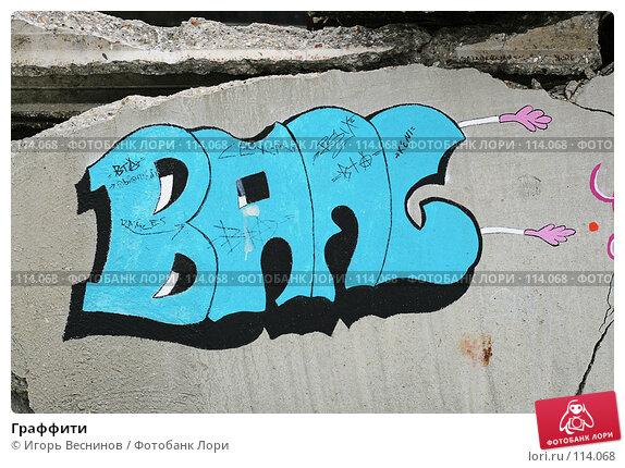 Граффити, фото № 114068, снято 10 ноября 2007 г. (c) Игорь Веснинов / Фотобанк Лори