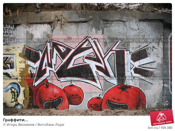 Граффити..., фото № 169380, снято 3 января 2008 г. (c) Игорь Веснинов / Фотобанк Лори
