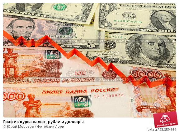Купить «График курса валют, рубли и доллары», эксклюзивное фото № 23359664, снято 5 августа 2016 г. (c) Юрий Морозов / Фотобанк Лори