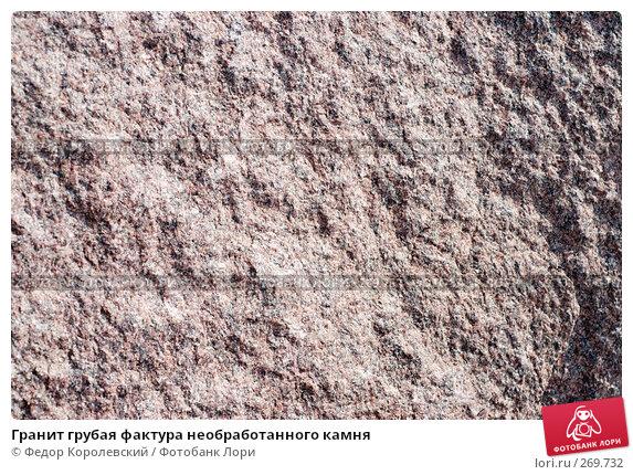 Гранит грубая фактура необработанного камня, фото № 269732, снято 1 мая 2008 г. (c) Федор Королевский / Фотобанк Лори