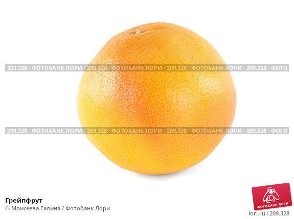 Грейпфрут, фото № 209328, снято 19 февраля 2008 г. (c) Моисеева Галина / Фотобанк Лори