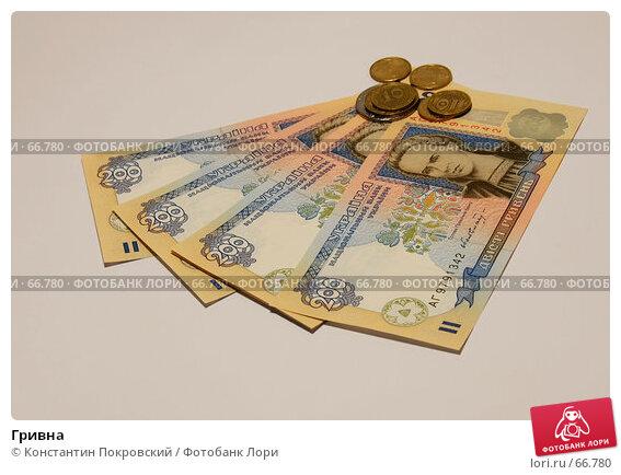 Купить «Гривна», фото № 66780, снято 31 июля 2007 г. (c) Константин Покровский / Фотобанк Лори