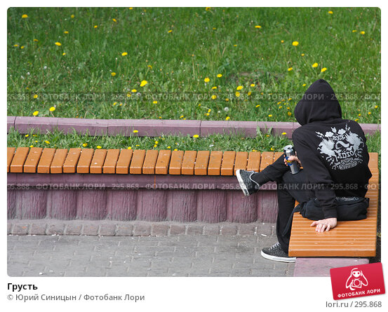 Грусть, фото № 295868, снято 20 мая 2008 г. (c) Юрий Синицын / Фотобанк Лори