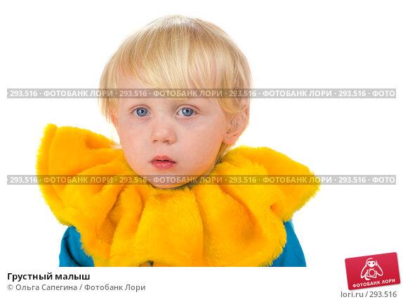 Грустный малыш, фото № 293516, снято 14 апреля 2008 г. (c) Ольга Сапегина / Фотобанк Лори