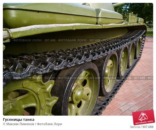 Гусеницы танка, фото № 307688, снято 12 июня 2007 г. (c) Максим Пименов / Фотобанк Лори