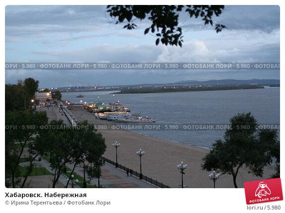 Купить «Хабаровск. Набережная», эксклюзивное фото № 5980, снято 20 сентября 2005 г. (c) Ирина Терентьева / Фотобанк Лори