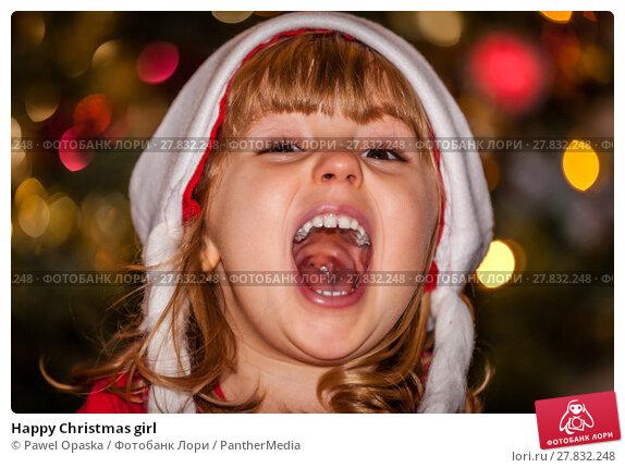 Купить «Happy Christmas girl», фото № 27832248, снято 26 февраля 2018 г. (c) PantherMedia / Фотобанк Лори