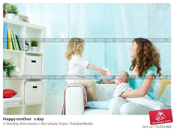 Happy mother's day. Стоковое фото, фотограф Dmitriy Shironosov / PantherMedia / Фотобанк Лори