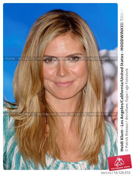 Купить «Heidi Klum - Los Angeles/California/United States - HOODWINKED TOO FILM PREMIERE», фото № 14120572, снято 16 апреля 2011 г. (c) age Fotostock / Фотобанк Лори
