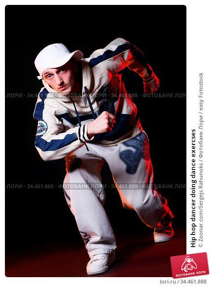 Hip hop dancer doing dance exercses. Стоковое фото, фотограф Zoonar.com/Sergejs Rahunoks / easy Fotostock / Фотобанк Лори