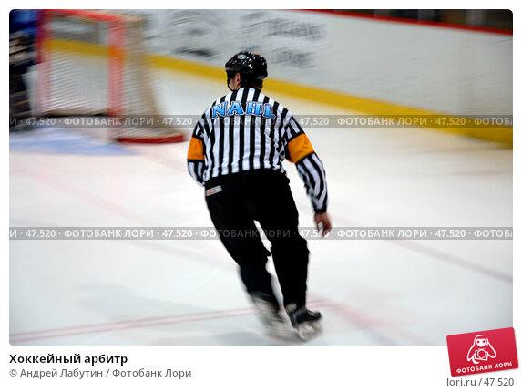 Хоккейный арбитр, фото № 47520, снято 26 мая 2007 г. (c) Андрей Лабутин / Фотобанк Лори