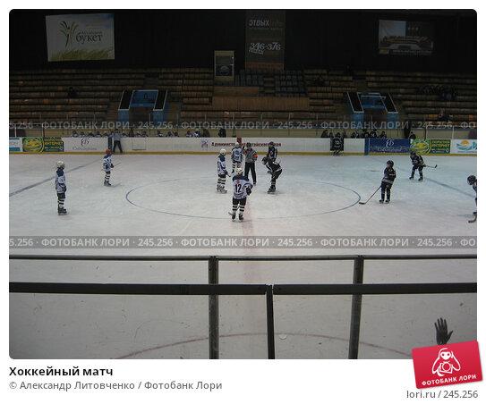 Хоккейный матч, фото № 245256, снято 13 марта 2007 г. (c) Александр Литовченко / Фотобанк Лори