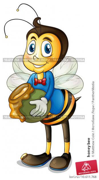 honey bee. Стоковая иллюстрация, иллюстратор Matthew Cole / PantherMedia / Фотобанк Лори
