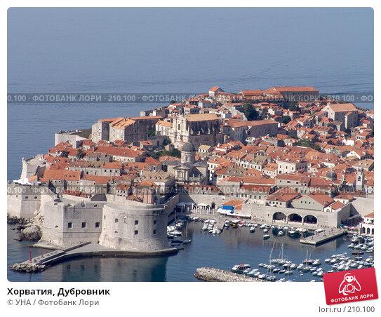Купить «Хорватия, Дубровник», фото № 210100, снято 24 сентября 2007 г. (c) УНА / Фотобанк Лори