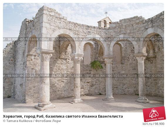 Хорватия, город Раб, базилика святого Иоанна Евангелиста, фото № 98900, снято 30 августа 2007 г. (c) Tamara Kulikova / Фотобанк Лори