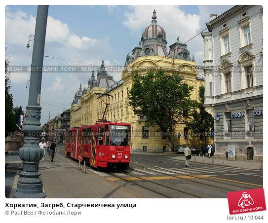 Купить «Хорватия, Загреб, Старчевичева улица», фото № 10044, снято 10 июля 2006 г. (c) Paul Bee / Фотобанк Лори