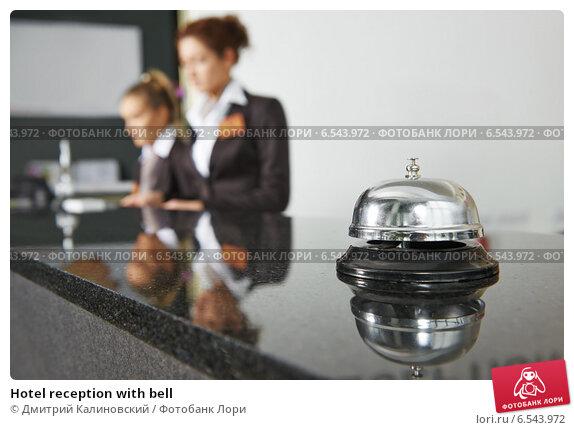 Купить «Hotel reception with bell», фото № 6543972, снято 15 октября 2014 г. (c) Дмитрий Калиновский / Фотобанк Лори