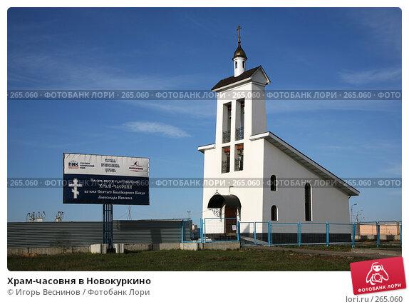 Храм-часовня в Новокуркино, эксклюзивное фото № 265060, снято 23 апреля 2008 г. (c) Игорь Веснинов / Фотобанк Лори