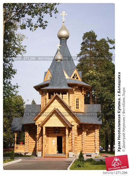 Храм Неопалимая Купина. г.Балашиха, эксклюзивное фото № 271296, снято 23 августа 2007 г. (c) Дмитрий Неумоин / Фотобанк Лори