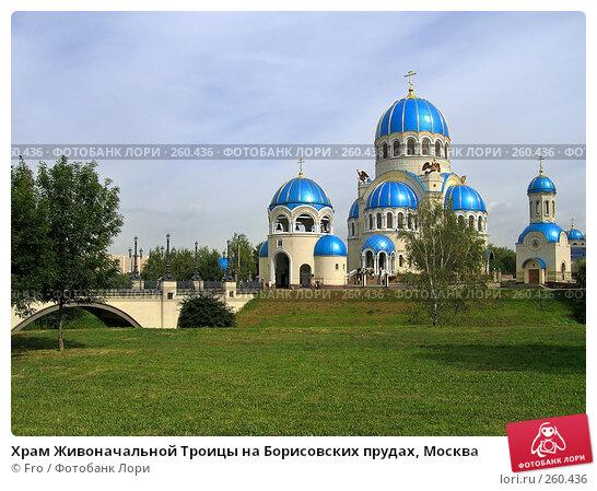 Храм Живоначальной Троицы на Борисовских прудах, Москва, фото № 260436, снято 4 сентября 2005 г. (c) Fro / Фотобанк Лори