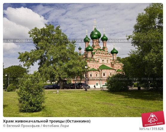 Храм живоначальной троицы (Останкино), фото № 319828, снято 1 июня 2008 г. (c) Евгений Прокофьев / Фотобанк Лори