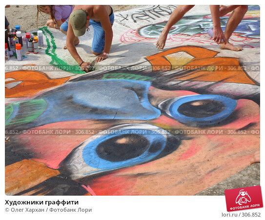Художники граффити, эксклюзивное фото № 306852, снято 25 мая 2008 г. (c) Олег Хархан / Фотобанк Лори