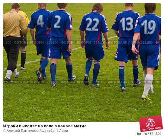 Купить «Игроки выходят на поле в начале матча», фото № 321300, снято 12 июня 2008 г. (c) Алексей Пантелеев / Фотобанк Лори