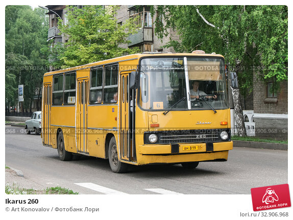 Ikarus 260 (2008 год). Редакционное фото, фотограф Art Konovalov / Фотобанк Лори