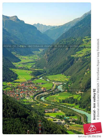 Inntal - Inn valley 02. Стоковое фото, фотограф Zoonar.com/Liane Matrisch / easy Fotostock / Фотобанк Лори