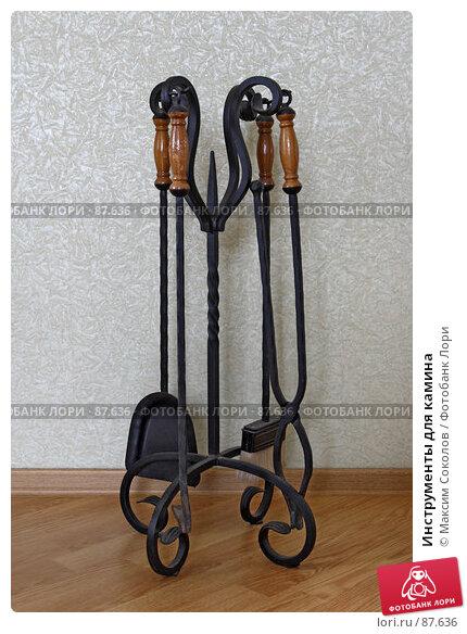 Инструменты для камина, фото № 87636, снято 22 сентября 2007 г. (c) Максим Соколов / Фотобанк Лори