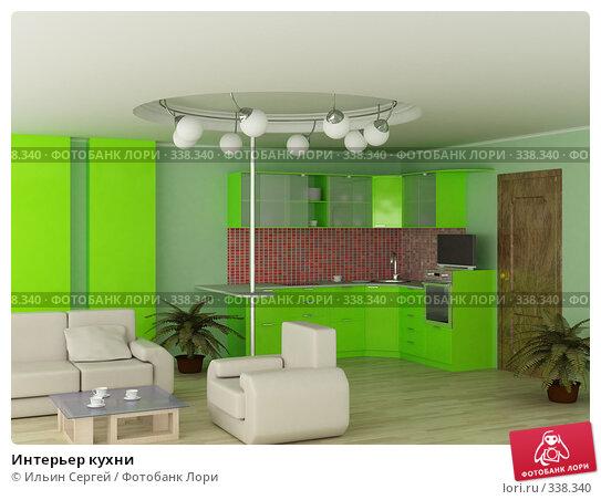 Интерьер кухни, иллюстрация № 338340 (c) Ильин Сергей / Фотобанк Лори