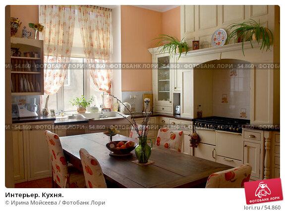 Интерьер. Кухня., фото № 54860, снято 5 мая 2006 г. (c) Ирина Мойсеева / Фотобанк Лори
