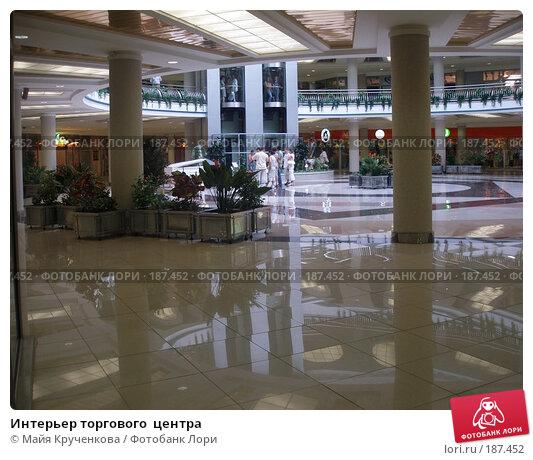 Купить «Интерьер торгового  центра», фото № 187452, снято 14 августа 2007 г. (c) Майя Крученкова / Фотобанк Лори