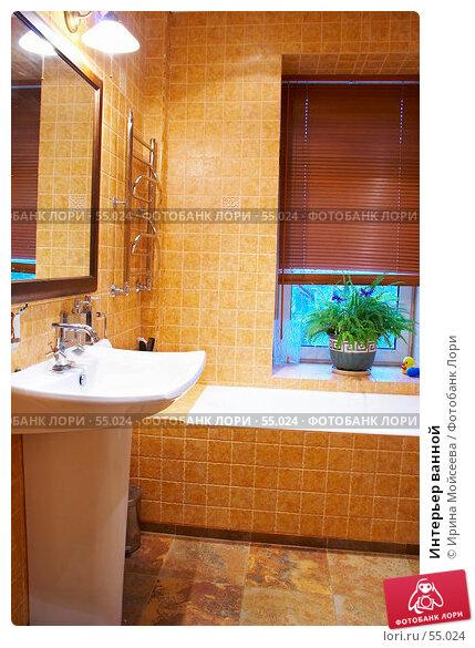Купить «Интерьер ванной», фото № 55024, снято 18 января 2007 г. (c) Ирина Мойсеева / Фотобанк Лори