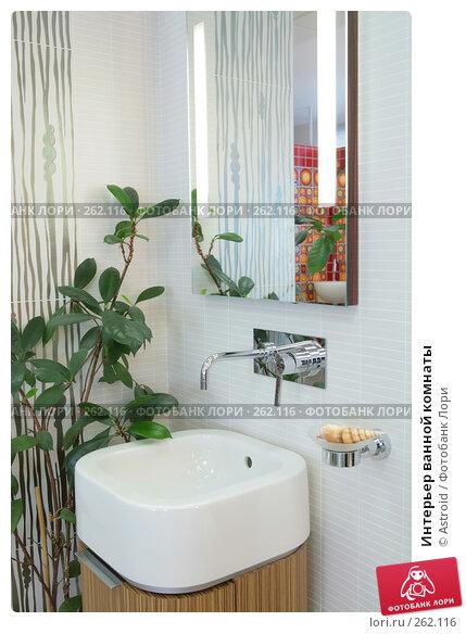 Купить «Интерьер ванной комнаты», фото № 262116, снято 22 апреля 2008 г. (c) Astroid / Фотобанк Лори