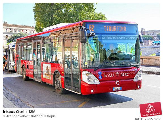 Купить «Irisbus Citelis 12M», фото № 6659612, снято 1 августа 2014 г. (c) Art Konovalov / Фотобанк Лори