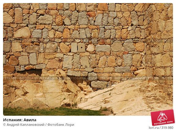 Испания: Авила, фото № 319980, снято 26 апреля 2008 г. (c) Андрей Каплановский / Фотобанк Лори