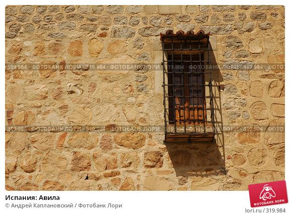 Купить «Испания: Авила», фото № 319984, снято 26 апреля 2008 г. (c) Андрей Каплановский / Фотобанк Лори