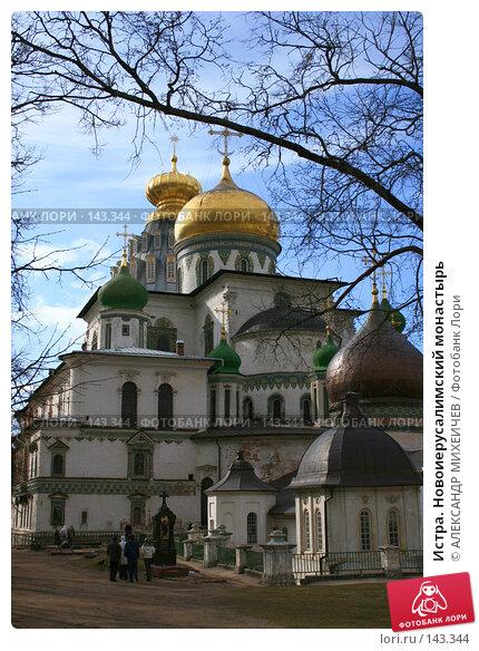 Купить «Истра. Новоиерусалимский монастырь», фото № 143344, снято 8 апреля 2007 г. (c) АЛЕКСАНДР МИХЕИЧЕВ / Фотобанк Лори