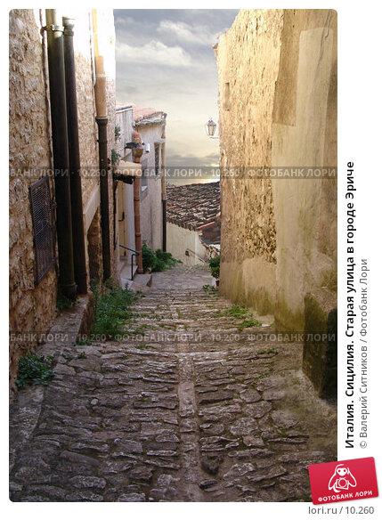Италия. Сицилия. Старая улица в городе Эриче, фото № 10260, снято 9 октября 2004 г. (c) Валерий Ситников / Фотобанк Лори