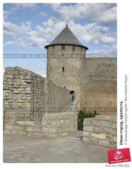 Иван-город, крепость, фото № 185252, снято 29 июня 2006 г. (c) Александр Секретарев / Фотобанк Лори