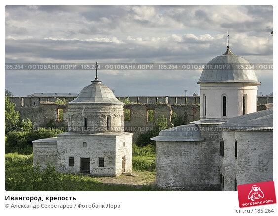 Ивангород, крепость, фото № 185264, снято 29 июня 2006 г. (c) Александр Секретарев / Фотобанк Лори