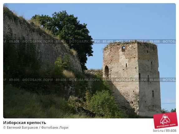 Изборская крепость, фото № 89608, снято 18 августа 2007 г. (c) Евгений Батраков / Фотобанк Лори