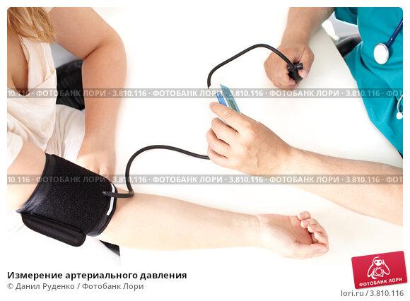 Купить «Измерение артериального давления», фото № 3810116, снято 27 июня 2012 г. (c) Данил Руденко / Фотобанк Лори
