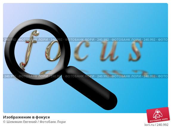 Изображение в фокусе, иллюстрация № 240992 (c) Шемякин Евгений / Фотобанк Лори
