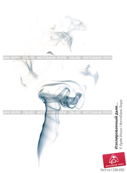 Купить «Изолированный дым...», фото № 236692, снято 24 апреля 2018 г. (c) Ерин Илья / Фотобанк Лори