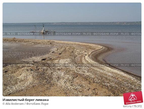 Извилистый берег лимана, фото № 79372, снято 3 мая 2006 г. (c) Alla Andersen / Фотобанк Лори
