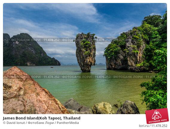 Купить «James Bond Island(Koh Tapoo), Thailand», фото № 11478252, снято 26 мая 2019 г. (c) PantherMedia / Фотобанк Лори