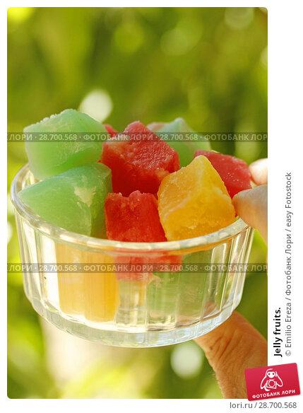 Купить «Jelly fruits.», фото № 28700568, снято 19 июня 2018 г. (c) easy Fotostock / Фотобанк Лори