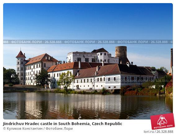 Jindrichuv Hradec castle in South Bohemia, Czech Republic, фото № 26328888, снято 19 сентября 2014 г. (c) Куликов Константин / Фотобанк Лори